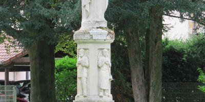 Herz-Jesu Statue in Rheda-Wiedenbrück