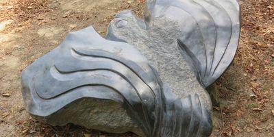 Tier-Skulpturen im Westfalenpark in Dortmund