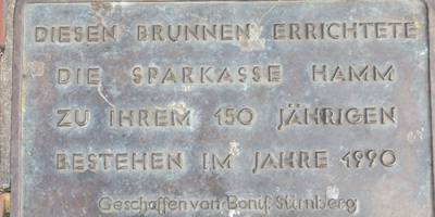 Tierbrunnen von Bonifatius Stirnberg in Hamm in Westfalen