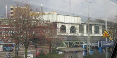 Schwebebahn-Station Oberbarmen in Wuppertal
