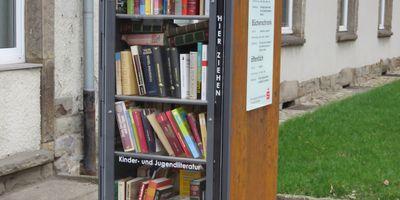 Offener Bücherschrank in Dortmund