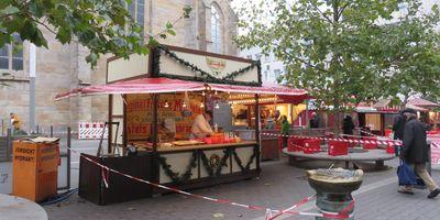 Weihnachtsmarkt, Standorte an der Petrikirche in Dortmund