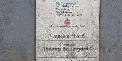 Schwein - Kunstobjekt Nr. 6 von Thomas Baumgärtel in Mülheim an der Ruhr