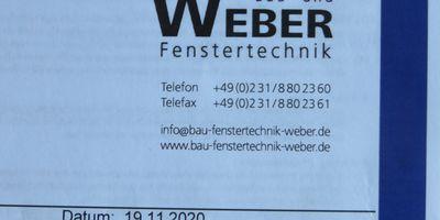 Bau- und Fenstertechnik Weber Inhaber Dominik Weber in Lünen