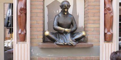 Schneider Wibbel Denkmal in Düsseldorf