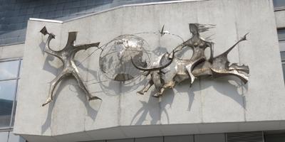 Europa auf dem Stier - Skulptur (Alter Markt) in Dortmund