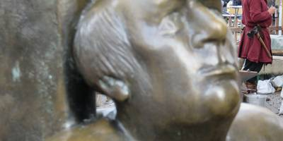 Jugend / Alter - Skulptur in Dortmund