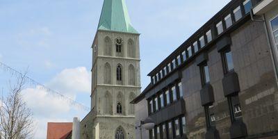 Evangelische Pauluskirche in Hamm in Westfalen