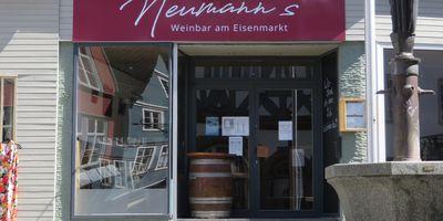 Neumann's Weinbar am Eisenmarkt in Wetzlar