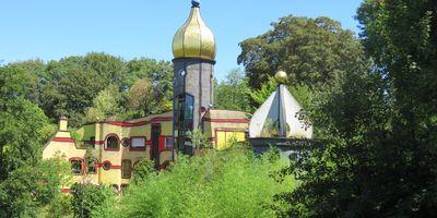 Hundertwasserhaus - Ronald McDonald Haus im Grugapark in Essen