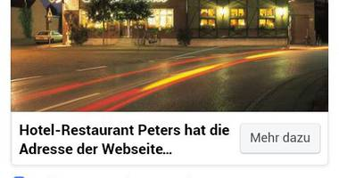 Gasthof Peters Hotel und Restaurant in Selfkant