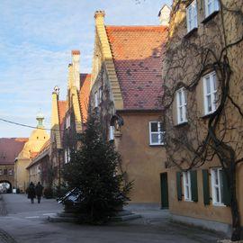 Bild zu Fuggerei mit Fuggereimuseum in Augsburg