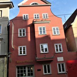 Bild zu Mozarthaus in Augsburg