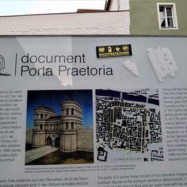 Bild zu Porta Praetoria in Regensburg