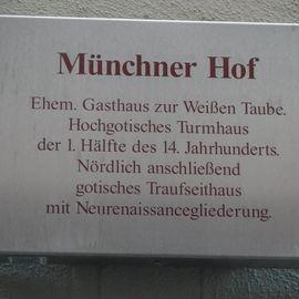 Münchner Hof in Regensburg