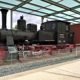 Bild zu Lokomotivdenkmal Walhallabockerl in Regensburg