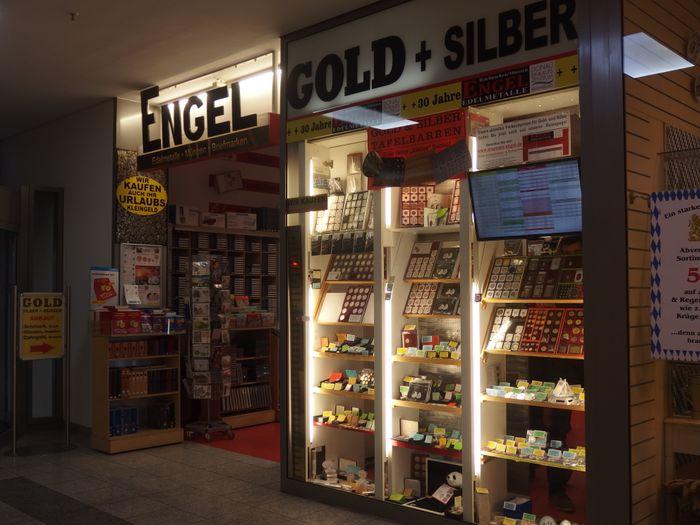 Engel Münzen Briefmarken Gold 1 Foto Regensburg Weichs