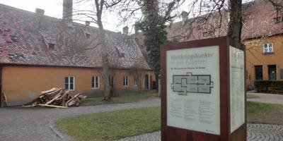 Fuggerei – Museum im Weltkriegsbunker in Augsburg