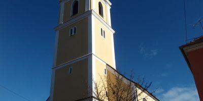 Kath. Stadtpfarrkirche Johannes der Täufer in Vilshofen in Niederbayern
