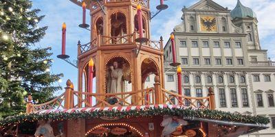 Weihnachtsmarkt Augsburg in Augsburg