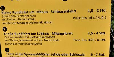 """Fährmannsverein """"Flottes Rudel"""" in Lübben im Spreewald"""