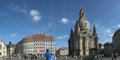Gesellschaft Historischer Neumarkt Dresden e.V. , Informationspavillion in Dresden