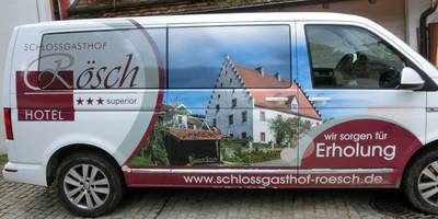 Rösch Schloßgasthof in Blaibach