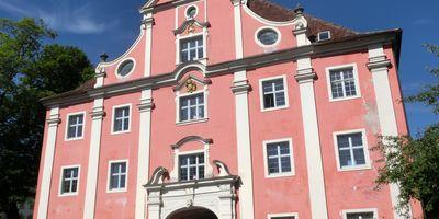 Kloster und Schloss Salem in Salem in Baden