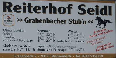Reiterhof Seidl in Grabenbach Gemeinde Wenzenbach