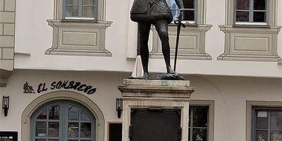 Don Juan de Austria Statue in Regensburg