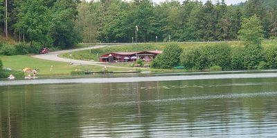 Kiosk am See (geöffnet Mai bis Oktober) in Blaibach