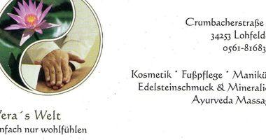 Göhler Vera Kosmetikerin , Vera's Welt Kosmetik- und Mineralienverkauf / Edelstein-Reflexmassage in Lohfelden