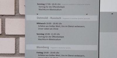Jehovas Zeugen Versammlung Detmold Süd e.V. in Detmold