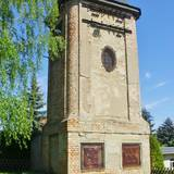 """Technisches Denkmal """"Trafoturm Hedersleben"""" in Lutherstadt Eisleben Hedersleben"""