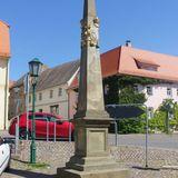Kursächsische Postmeilensäule Landsberg in Landsberg in Sachsen Anhalt