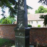 Deutsches Kriegerdenkmal in Zauchwitz Stadt Beelitz in der Mark