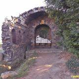 Grotte der Egeria im Wörlitzer Park in Oranienbaum-Wörlitz Wörlitz