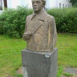Bild zu Erich Weinert-Denkmal in Eisenhüttenstadt