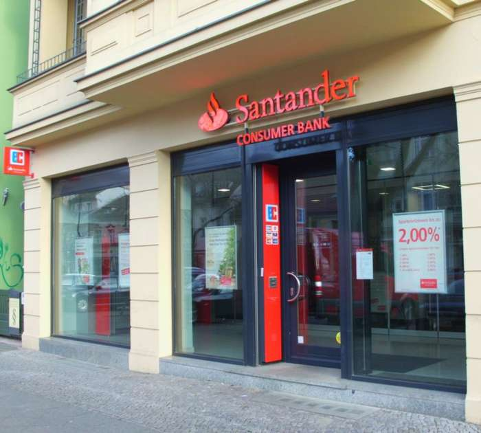 santander bank zweigniederlassung der santander consumer. Black Bedroom Furniture Sets. Home Design Ideas