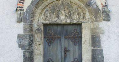 Doppelkapelle St. Crucis (Sanctae Crucis) in Landsberg in Sachsen Anhalt