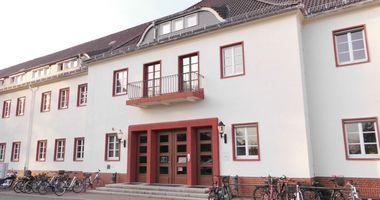 Gedenkstätte und Museum Sachsenhausen - ehemalige »Inspektion der Konzentrationslager (IKL)« in Oranienburg