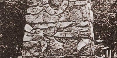 """Gedenkstein """"1. urkundliche Erwähnung von Briesen"""" in Briesen in der Mark"""