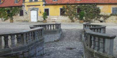Pferdeschwemme auf Schloss Heidecksburg in Rudolstadt