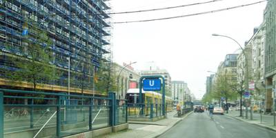 U-Bahnhof Oranienburger Tor in Berlin
