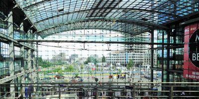 Berlin Hauptbahnhof (HBf) in Berlin