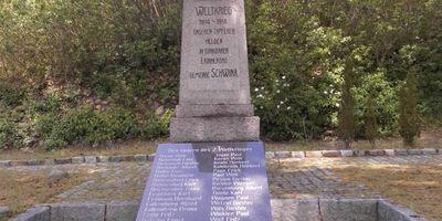 Deutsches Kriegerdenkmal Schwina in Emstal in Emstal Gemeinde Kloster Lehnin
