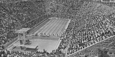 Sommerbad Olympiastadion in Berlin