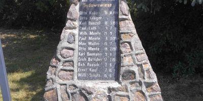 Deutsches Kriegerdenkmal Sydowswiese in Sydowswiese Gemeinde Letschin