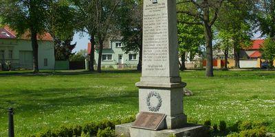 Deutsches Kriegerdenkmal Saalow in Saalow Gemeinde Am Mellensee