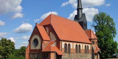 Dorfkirche in Wallitz Stadt Rheinsberg